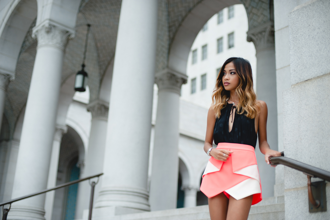 How to style origami skirts