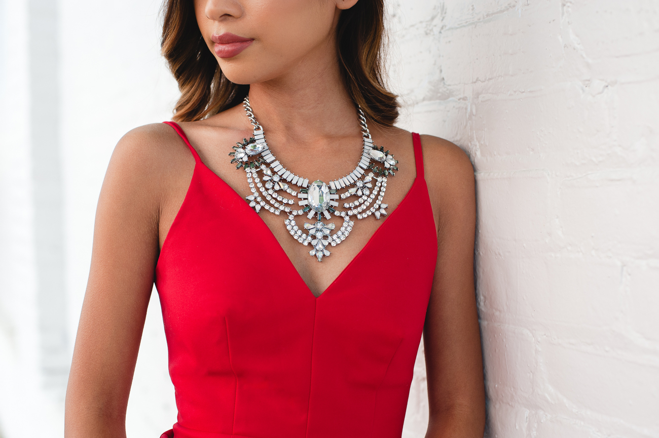 Silver Classy Statement Necklaces