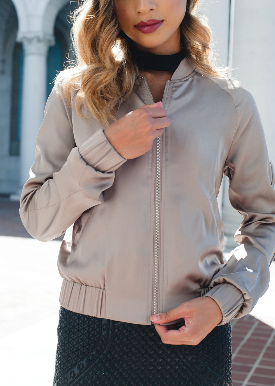 Express Women's Bomber Jacket
